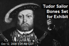 Tudor Sailor Bones Set for Exhibit