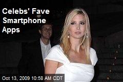 Celebs' Fave Smartphone Apps