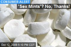 'Sex Mints'? No, Thanks!