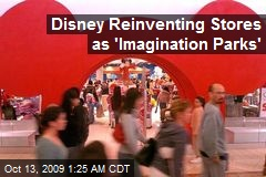 Disney Reinventing Stores as 'Imagination Parks'