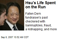 Hsu's Life Spent on the Run