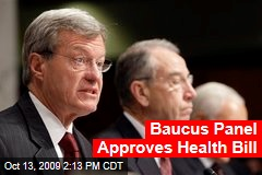 Baucus Panel Approves Health Bill