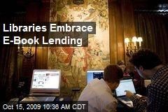 Libraries Embrace E-Book Lending