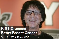 KISS Drummer Beats Breast Cancer