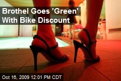 Brothel Goes 'Green' With Bike Discount