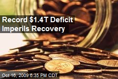 Record $1.4T Deficit Imperils Recovery