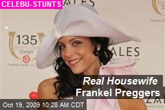 Real Housewife Frankel Preggers