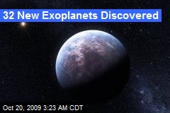 32 New Exoplanets Discovered