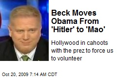 Beck Moves Obama From 'Hitler' to 'Mao'
