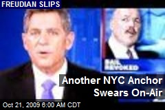 Another NYC Anchor Swears On-Air