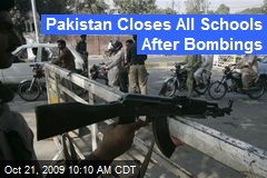 Pakistan Closes All Schools After Bombings