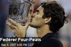 Federer Four-Peats