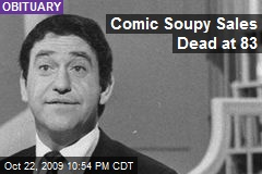 Comic Soupy Sales Dead at 83