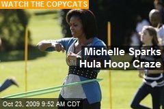Michelle Sparks Hula Hoop Craze