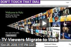 TV Viewers Migrate to Web