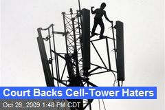 Court Backs Cell-Tower Haters