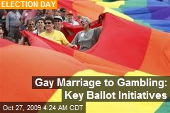 Gay Marriage to Gambling: Key Ballot Initiatives