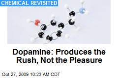 Dopamine: Produces the Rush, Not the Pleasure