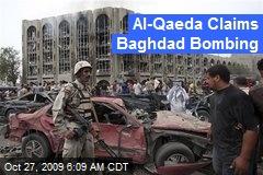 Al-Qaeda Claims Baghdad Bombing