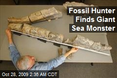Fossil Hunter Finds Giant Sea Monster