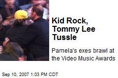 Kid Rock, Tommy Lee Tussle