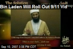 Bin Laden Will Roll Out 9/11 Vid