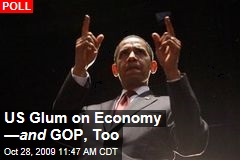 US Glum on Economy — and GOP, Too