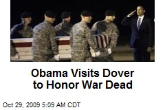 Obama Visits Dover to Honor War Dead