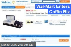 Wal-Mart Enters Coffin Biz
