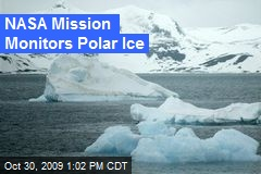 NASA Mission Monitors Polar Ice