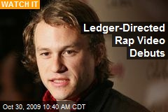 Ledger-Directed Rap Video Debuts