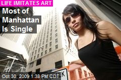 Most of Manhattan Is Single