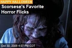 Scorsese's Favorite Horror Flicks