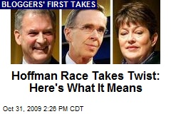 Hoffman Race Takes Twist: Here's What It Means