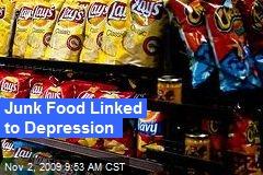Junk Food Linked to Depression