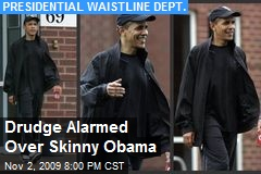 Drudge Alarmed Over Skinny Obama