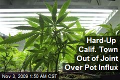 Hard-Up Calif. Town Out of Joint Over Pot Influx