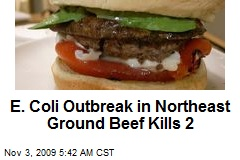 E. Coli Outbreak in Northeast Ground Beef Kills 2