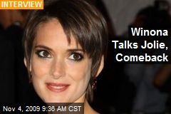 Winona Talks Jolie, Comeback