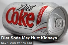 Diet Soda May Hurt Kidneys