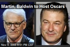 Martin, Baldwin to Host Oscars