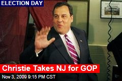 Christie Takes NJ for GOP