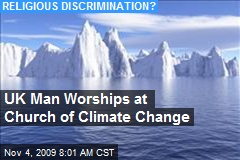 UK Man Worships at Church of Climate Change