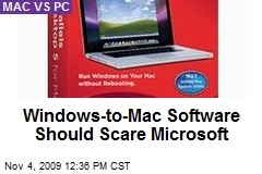 Windows-to-Mac Software Should Scare Microsoft