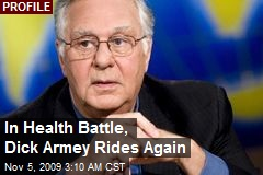 In Health Battle, Dick Armey Rides Again