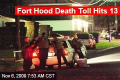 Fort Hood Death Toll Hits 13