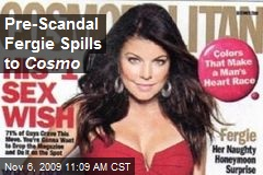 Pre-Scandal Fergie Spills to Cosmo