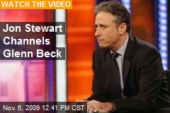 Jon Stewart Channels Glenn Beck