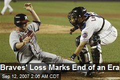 Braves' Loss Marks End of an Era