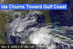 Ida Churns Toward Gulf Coast